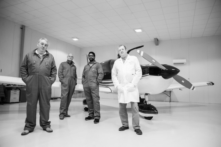 Cavendish Aviation commercial photography